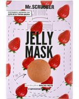 Mr. SCRUBBER - Гелевая маска Jelly Mask с гидролатом клубники