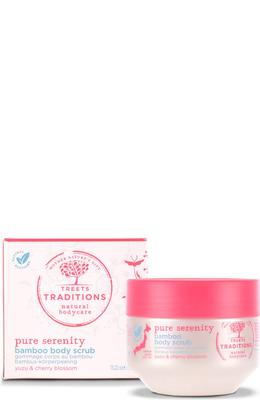 Treets Traditions Pure Serenity Bamboo Body Scrub