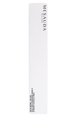 MESAUDA White Rectangular Nail File