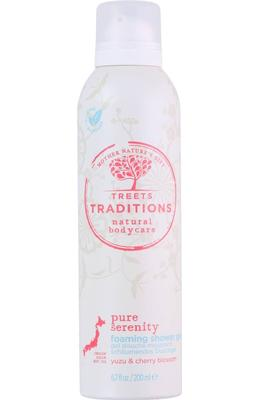 Treets Traditions Pure Serenity Foaming Shower Gel