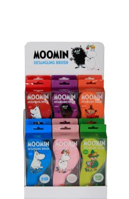 RICH Moomin Detangling Brush