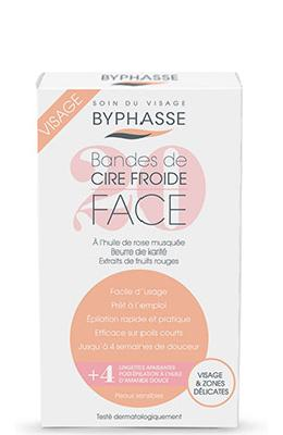 Byphasse Cold Wax Strips Face & Delicate Areas
