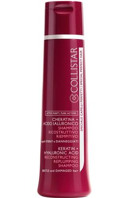 Collistar Keratin + Hyaluronic Acid Reconstructive Replumping Shampoo