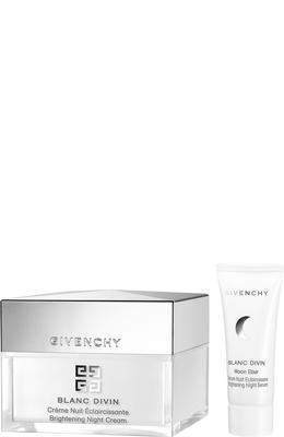 Givenchy Blanc Divin Night Cream and Moon Elixir Brightening Night Serum