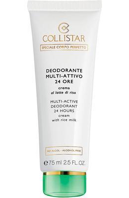 Collistar Multi-Active Deodorant 24 Hours Cream with Rice Milk - alcohol free