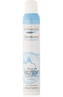 Byphasse Deodorant Spray Cotton Flower
