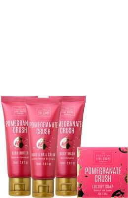 Scottish Fine Soaps Pomegranate Crush Luxurious Set