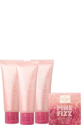 Scottish Fine Soaps Pink Fizz Luxurious Set