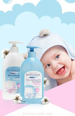Byphasse Gentle 2-in-1 Cleansing Baby Shower Gel