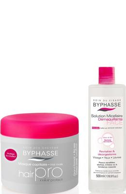 Byphasse Hair Pro Hair Mask + Micellar Removerset set