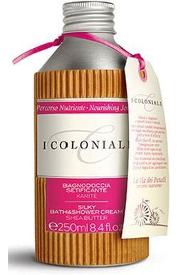 I Coloniali Silky Bath and Shower Cream Shea Butter