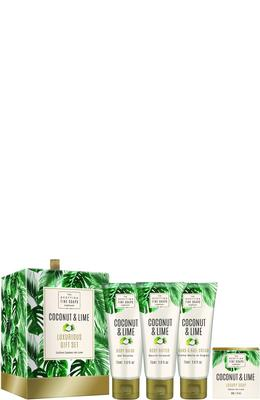 Scottish Fine Soaps Coconut & Lime Luxurious Set