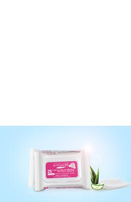 Byphasse Make-up Remover Wipes Micellar Solution Sensitive Skin