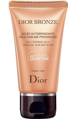 Dior Bronze Self Tanning Jelly Gradual Glow Face