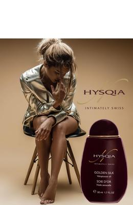 Hysqia Golden Silk Voluptuous Oil