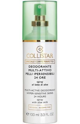 Collistar Multi-Active Deodorant 24 Hours Hyper-sensitive skins spray with aloe milk