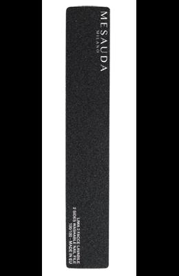 MESAUDA Black Rectangular Nail File