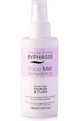 Byphasse Face Mist Re-hydrating For Combination To Oily Skin