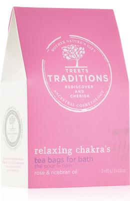 Treets Traditions Relaxing Chakra's Bath Tea