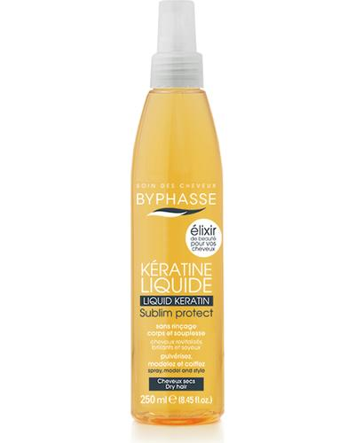 Byphasse Защитная сыворотка-эликсир для сухих и поврежденных волос Liquid Keratine Activ Protect Dry Hair