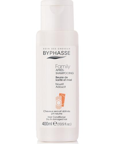 Byphasse Кондиціонер для сухого волосся Family Hair Conditioner Shea Butter And Honey