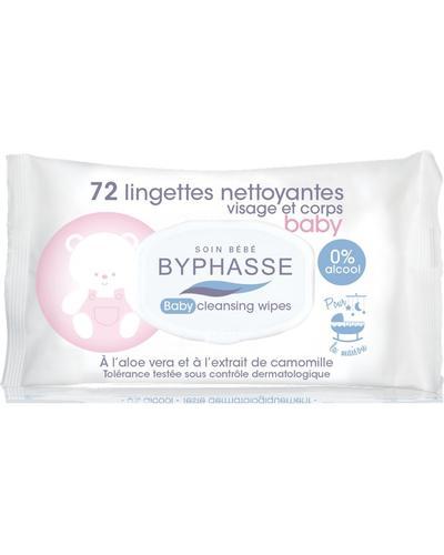 Byphasse Очищуючі серветки для дітей Baby Wipes