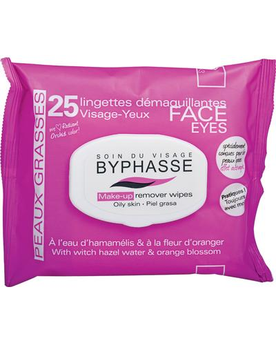 Byphasse Салфетки очищающие Make-up Remover Wipes Witch Hazel Water & Orange Blossom