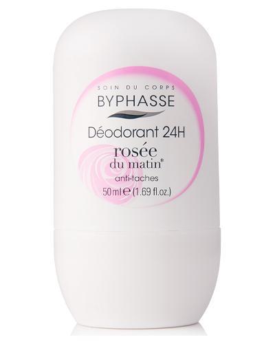 Byphasse Дезодорант роликовый 24h Deodorant Rosee Du Matin