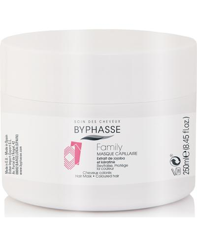 Byphasse Маска для волос Family Hair Mask Jojoba Extract And Keratin
