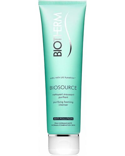 Biotherm Очищающая пенка для нормальной и комбинированной кожи Biosource Purifying Foaming Cleanser