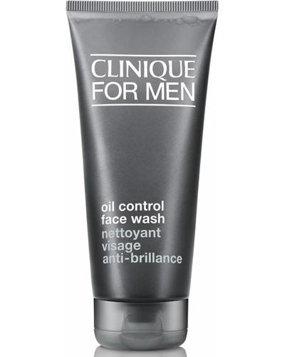 Clinique Чоловіче рідке мило для жирної шкіри Oil Control Face Wash For Men