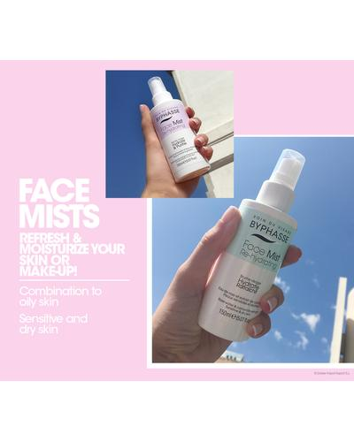 Byphasse Дымка для комбинированной и жирной кожи Face Mist Re-hydrating For Combination To Oily Skin. Фото 3