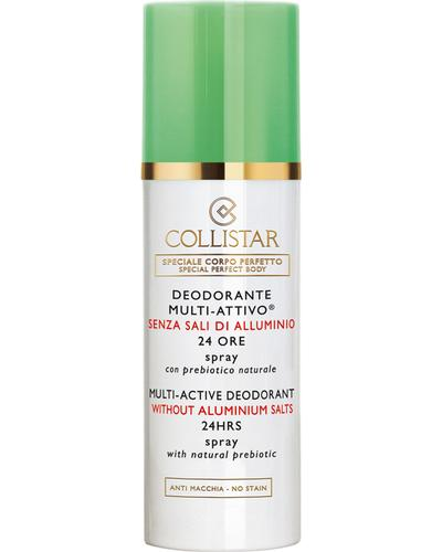 Collistar Дезодорант без солей алюмінію з натуральними пребіотиками Multi-active Deodorant 24 Hours
