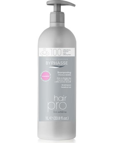 Byphasse Шампунь для неслухняного волосся Hair Pro Shampoo Liss Extreme Rebellious Hair