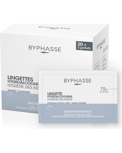 Byphasse Водно-спиртовые салфетки для рук Hydroalcoholic Hand Wipes