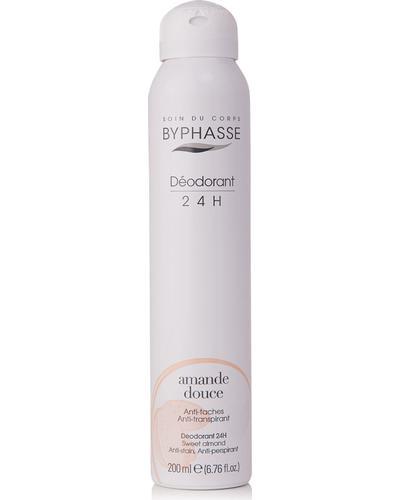 Byphasse Дезодорант антиперспірант 24h Anti-perspirant Deodorant Sweet Almond