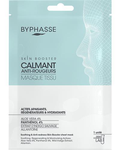 Byphasse Тканинна маска з заспокійливою дією і проти почервоніння Soothing & Anti-Redness Skin Booster Sheet Mask