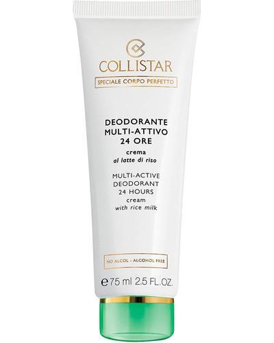 Collistar Кремовий дезодорант з рисовим молочком 24H Multi-Active Deodorant 24 Hours Cream with Rice Milk - alcohol free