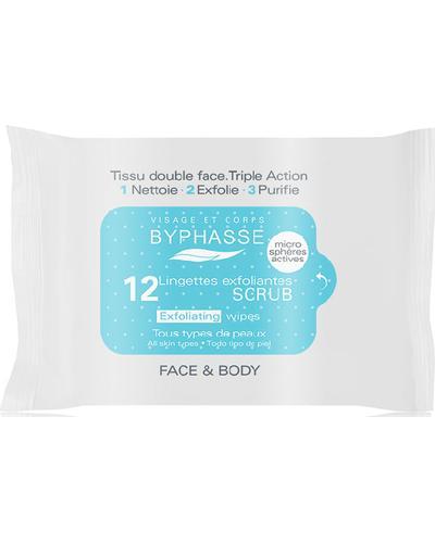 Byphasse Серветки для обличчя відлущуючі Exfoliating Wipes All Skin Types