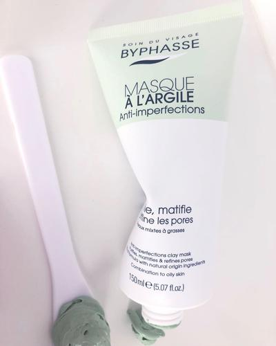 Byphasse Маска для лица Masque A L'Argile Anti-imperfections Clay Mask. Фото 4