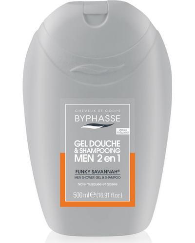 Byphasse Гель-шампунь 2 в 1 для чоловіків Gel Douche-Shampooing 2 en 1