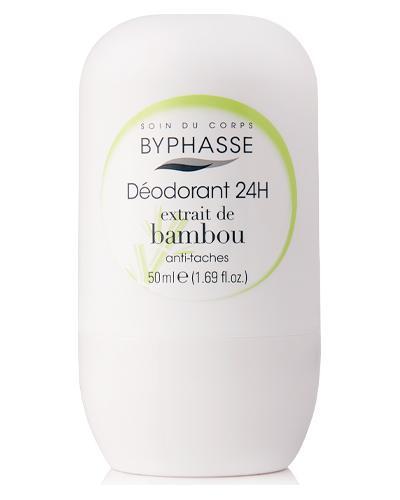 Byphasse Дезодорант роликовий 24h Deodorant Bamboo Extract