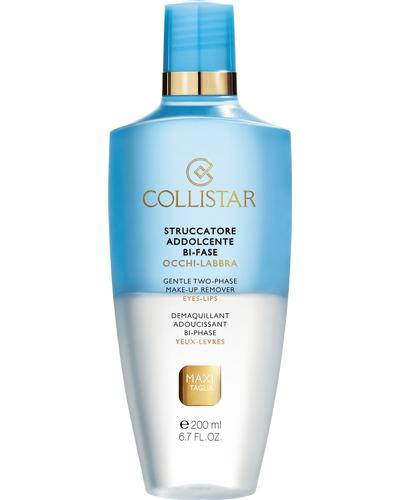 Collistar М'яка двофазна рідина для зняття макіяжу Gentle Two-Phase Make-Up Remover Eyes & Lips
