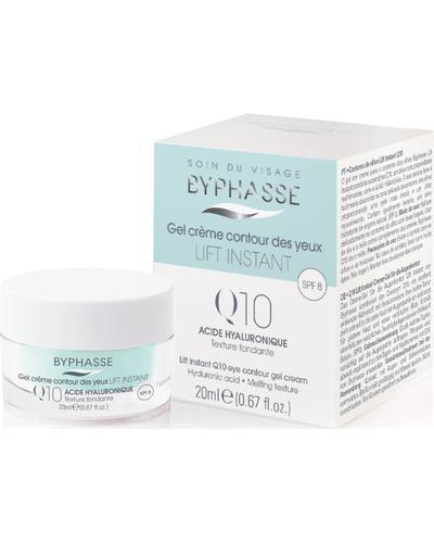 Byphasse Крем-гель против морщин для кожи вокруг глаз Lift Instant Eyes Gel Cream Q10