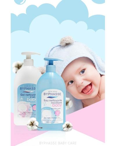 Byphasse Гель для душа детский Gentle 2-in-1 Cleansing Baby Shower Gel. Фото 1