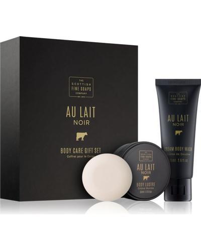 Scottish Fine Soaps Au Lait Noir Body Care Gift Set
