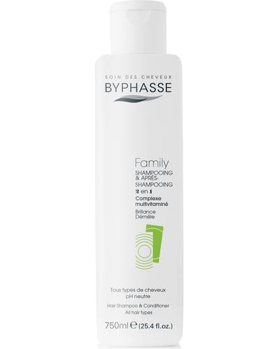 Byphasse Шампунь и кондиционер для всей семьи Family Shampoo And Conditioner Multivitamin Complex