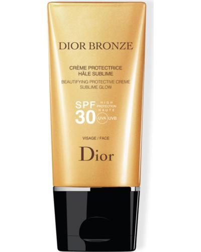 Dior Солнцезащитный крем для лица для безупречного сияния Bronze Beautifying Protective Cream Sublime Glow