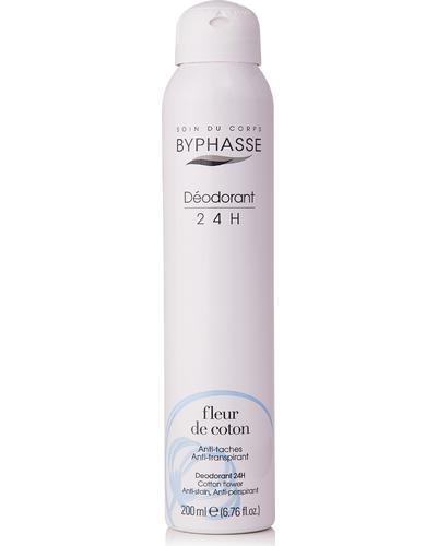 Byphasse Дезодорант антиперспирант Unisex 24h Anti-perspirant Deodorant Cotton Flower