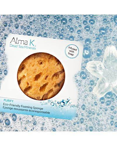 Alma K Губка-спонж натуральная пенящаяся Eco-friendly Foaming Sponge. Фото 3
